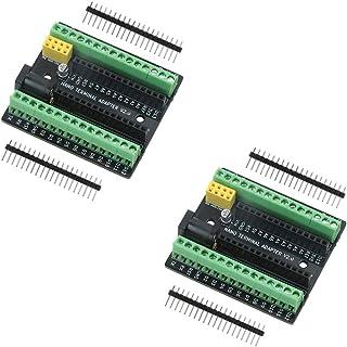 Emakefun Nano Terminal Expansion Adapter Board for Arduino Nano V3.0 AVR ATMEGA328P with NRF2401+ Expansion Interface, DC ...