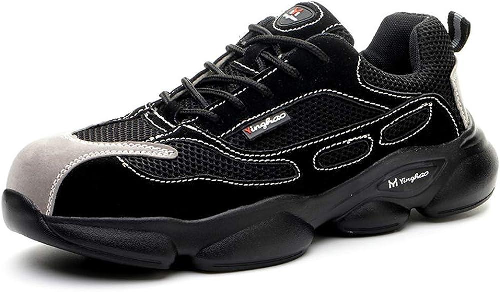 Bndiker Mens Safety Shoes Steel Toe Work Lightwe Women NEW before selling Boots Cap Austin Mall