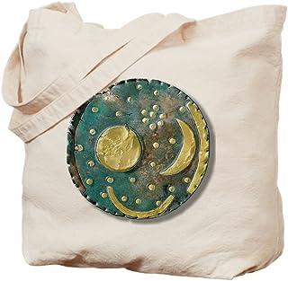 CafePress - Nebra Sky Disk, Bronze Age – – Natürliche Canvas-Tragetasche, Stoff-Einkaufstasche.