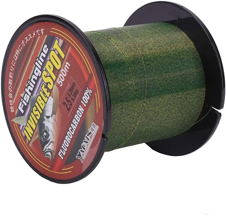 Patgoal 500m Camouflage Spots Fishing Flourocarbon Classic Our shop OFFers the best service Line Coated S