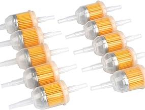 MN Small Petrol Universal Car Inline Fuel Filter 6mm-8mm