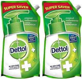 Dettol Original Germ Protection Handwash Liquid Soap Refill, 750ml (Pack of 2)