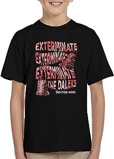 Warped Daleks Kid's T-Shirt
