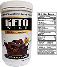 Keto Wise Meal Replacement Shake - Dutch Chocolate 456g