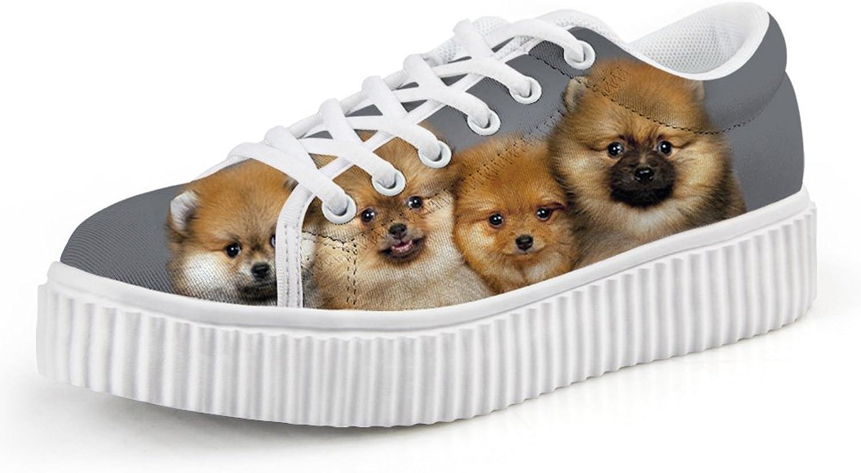 Chaqlin Kawaii Puppy Creeper Platform shoes for Women Size 36