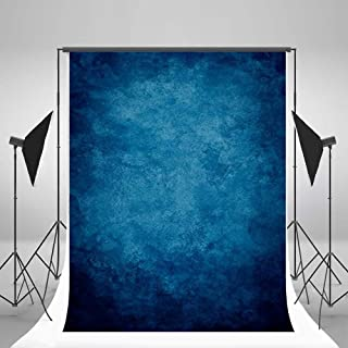 5x7ft Lfeey Vinyl Thin Photography Background Solid Color Theme Blue Backdrop Scene Photo Props for Photo Studio