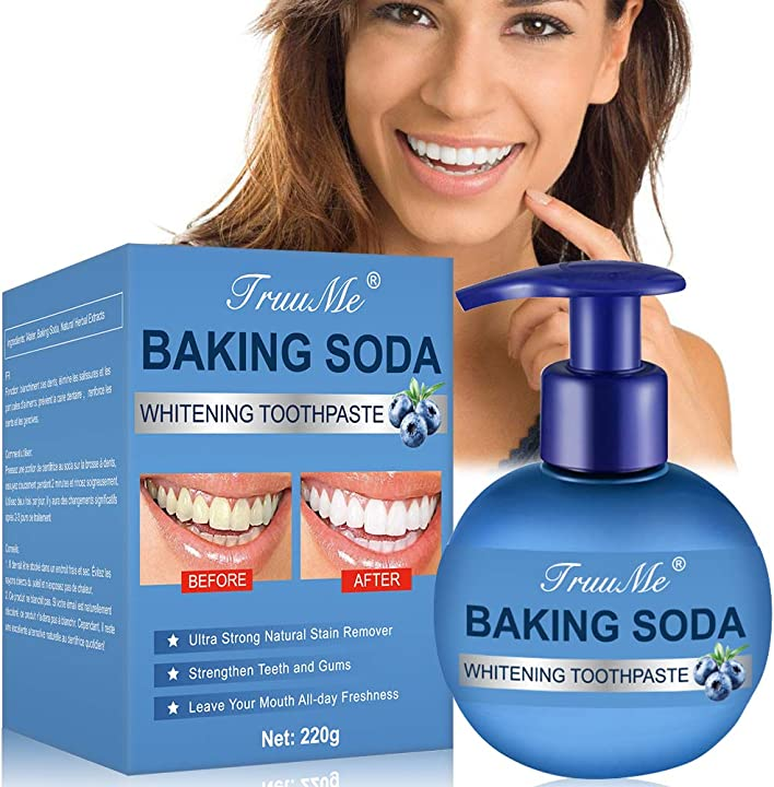 dentifricio sbiancante, baking soda toothpaste -  truume b07yz4vzt8