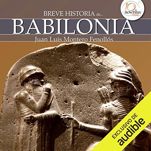 Diseño de la portada del título Breve historia de Babilonia