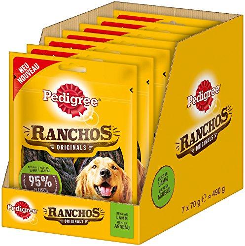 Pedigree Perros Aperitivos Perros Fuga erli Ranchos Originals, 7Paquetes (7x 70g)