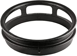 """Leyso 13"""" Diameter 3 Opening Cast Iron Rim to Replace the Worn Out Wok Ring for Chinese Wok Range"""