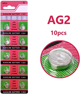 Cotchear AG2 396A LR726 SR726SW CX59 LR59 SR59 397 Button Cell Batteries [10 pcs-Pack]