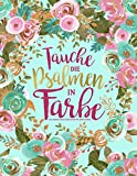 Tauche die Psalmen in Farbe: Ein christliches Ausmalbuch für Erwachsene: Ein einzigartiges religiöses Buch mit 45 Bibelversen zum Ausmalen