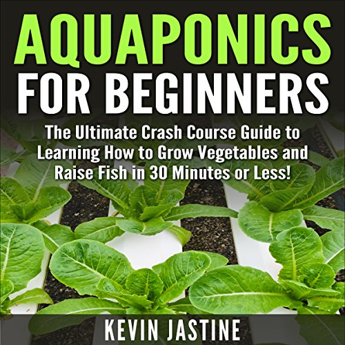 Aquaponics for Beginners audiobook cover art