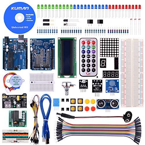 KINCREA RFID Master Starter Kit for Arduino, RC522 Sensor Module LCD Servo DC Motor, Update Projects with Tutorials