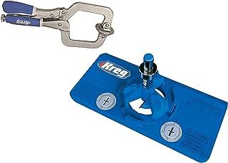 New Kreg Tool Company - Kreg KHI-Hinge Concealed Hinge Jig and Kreg KHC-Premium Face Clamp