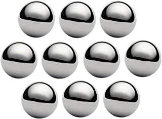 West Coast Paracord 1 Inch Chrome Steel Bearing Balls for Paracord Projects (10 Pack)