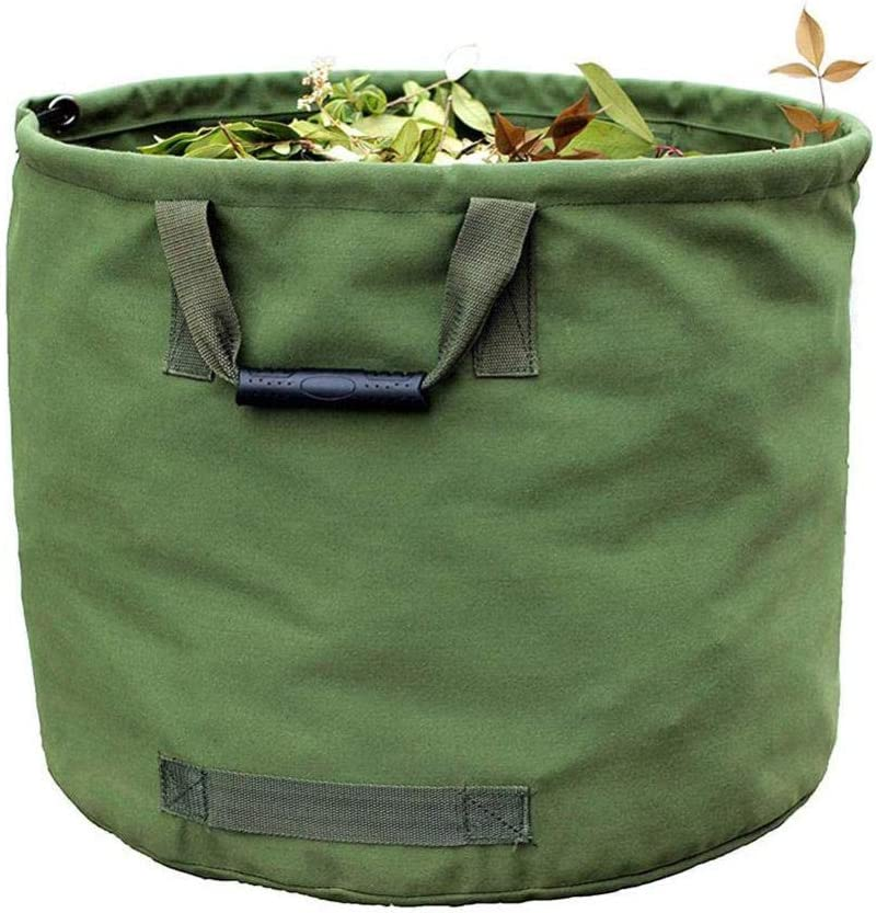tlwzhn Portable Ranking TOP9 It is very popular Foldable Large Waste Bag Garden Wat Leaves