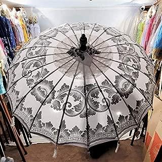 Large White Umbrella, Bali Umbrella, Wedding Umbrella, Asian Umbrella, Henna Party, Beach Umbrella, Indian Umbrella, Imported Umbrella, Bali
