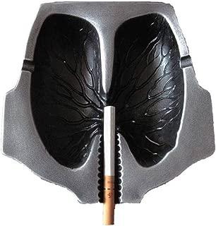 TAQUA Personalized Ashtray, Birthday Gift, Smoking Cessation, Ashtray, Lung Modeling, Ashtray, Portable Ashtray