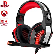 Beexcellent Gaming Headset for PS4 Xbox One PC, Noise-Isolation Headphones with..
