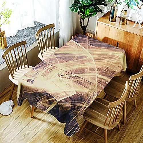 Cafetería Mesa De Centro Cuadrada Mantel Poliéster Impermeable Rectangular Mantel De Cocina Interior Y Exterior Sala De Estar Decoración De Jardín Navidad Fiesta De Halloween 150x260cm
