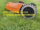 EDELSTAHL Spikes Traktionsverbesserung für Worx Landroid (S,M) Mähroboter Radgroesse 205mm