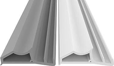 Stalen frame afdichting wit 5m - tegen tocht lawaai & stof bespaart verwarmingskosten afdichting afdichting afdichting hoo...
