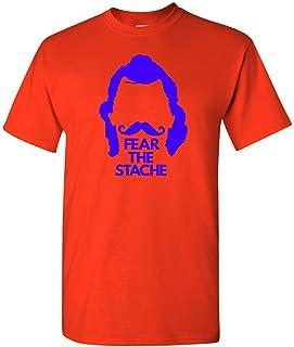 The Silo Orange Oklahoma Fear The Stache T-Shirt