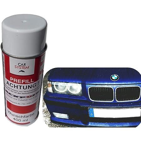 Spraydose 400ml 1k Autolack Nacht Blau 2 Metallic Glanz Kein Klarlack Tuning Auto