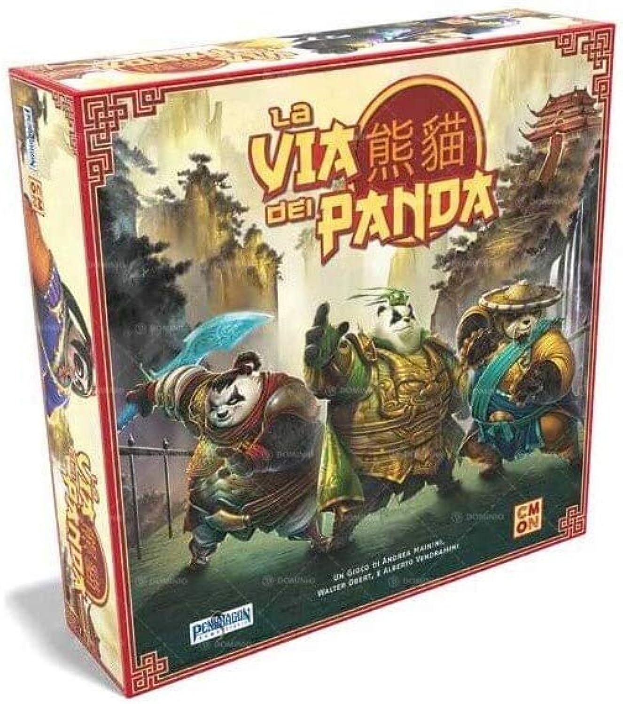 precio al por mayor Asmodee Italia - La Via de de de los Panda - Juego de Mesa Pendragon Juego Studio, Color 0530  tienda