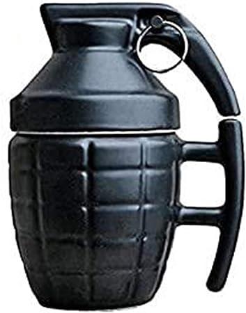 Tazza colazione a forma di bomba a mano aseok B07KWTD6TK