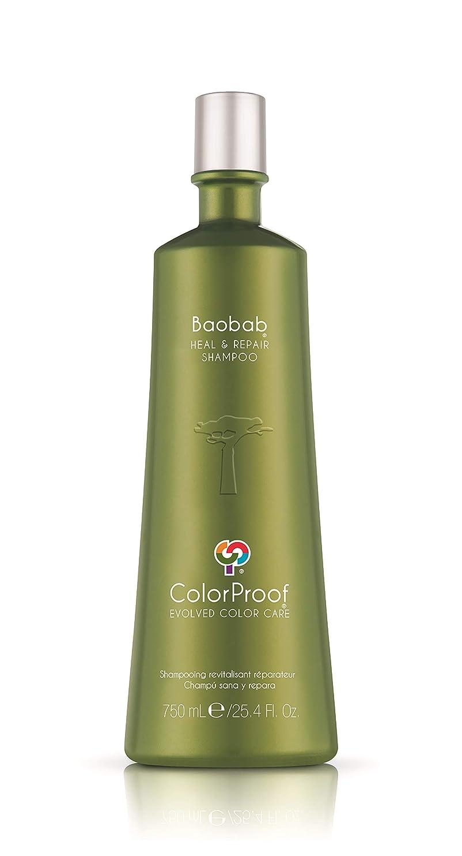 ColorProof Evolved Color Care ColorProof色ケア当局バオバブは、ヒール&ユニセックス、25.4 FL用のシャンプーを修復します。オズ。 25.4オンス 緑