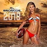 Broncos Cheerleaders Wall Calendar 2018 Made in USA