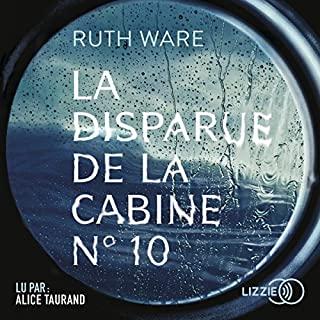 Couverture de La disparue de la cabine No. 10