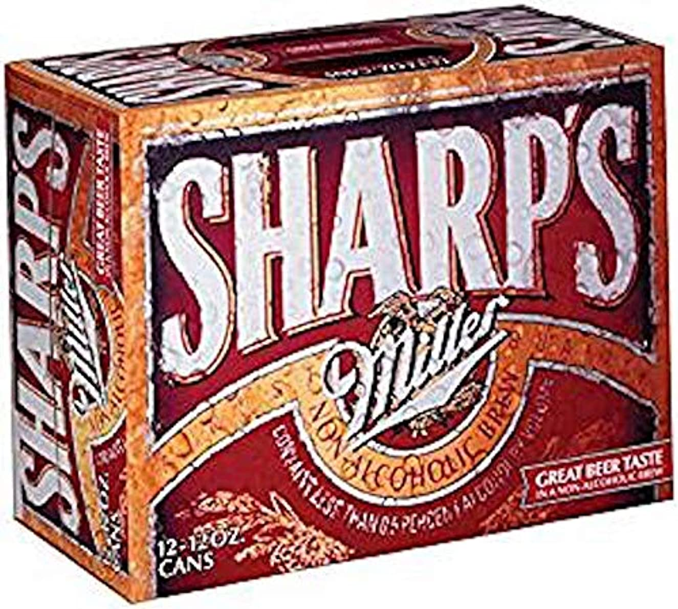 Sharp's Non-Alcoholic Beer 12 oz Cans - 12 Pack