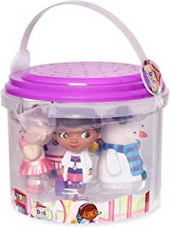 Disney - Doc McStuffins Bath Set of 5 - Dottie, Hallie, Chilly, Lambie, and Squeakers