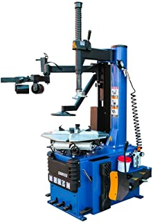 XK USA 1.5 HP Tire Changer Wheel Changers Single Machine Rim Clamp 960 w/Auxiliary Arm and Air Bead Blaster Function, 12 Month Warranty 110V