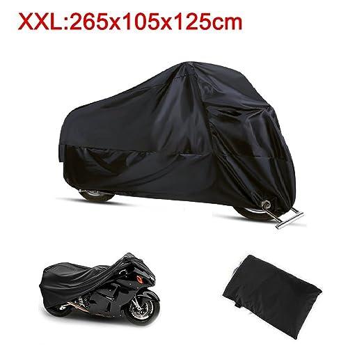 Funda Moto 190T Cubierta Impermeable de Motocicleta Protector Cubierta para Moto/Motocicleta Funda Cubre Moto