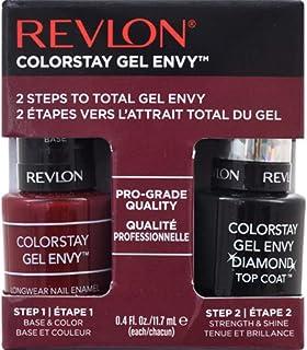 Revlon ColorStay Gel Envy Value Packs Queen Of Hearts + Diamond Top Coat Queen Of Hearts + Diamond Top Coat