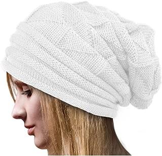 Headwear Cable Knit Beanie Beanie Hats for Women & Men Winter Soft Warm Ski Cap