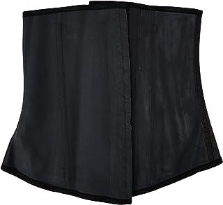 Ann Chery Waist Trainer and Shaper - Black 3 Hook Latex Waist Cincher Belt