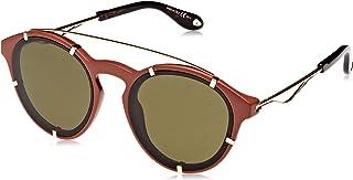 نظارة شمسية للنساء بتصميم دائري من جيفنشي - عدسات باللون الاخضر