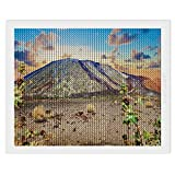 5D Diamond Painting Kits for Adults Kids Set Teide Volcano Tenerife Canary Islands Round Full Drill Art by Number Home Wall Decor Gift 45x55 cm