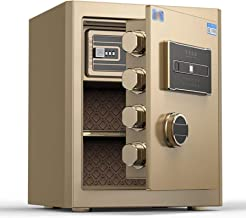 Document safes for Home fire and Waterproof Biometric Fingerprint Home Steel Safe for Office Hotel Jewelry Gun Cash Medica...