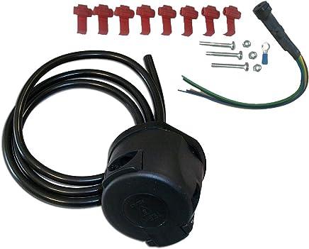 7-pin electric kit Honda Jazz MK III 2008-2015 Detachable towbar