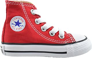 Converse All Star CT Infants Baby Toddlers Canvas Red/White 7j232 (7 M US)