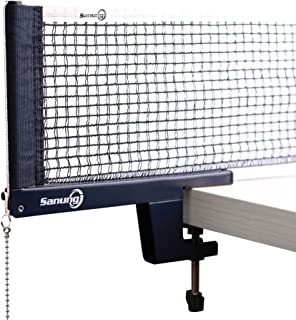 Sanung Portable Table Tennis Ball Net Support International Standard Size Playground Suitable for Indoor and Outdoor Train...