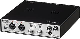 スタインバーグ Steinberg 24bit/192kHz対応 USBオーディオインターフェイス UR-RT2 RND社製トランスフォーマーを採用し、より太く艶(つや)のある音質での録音を実現