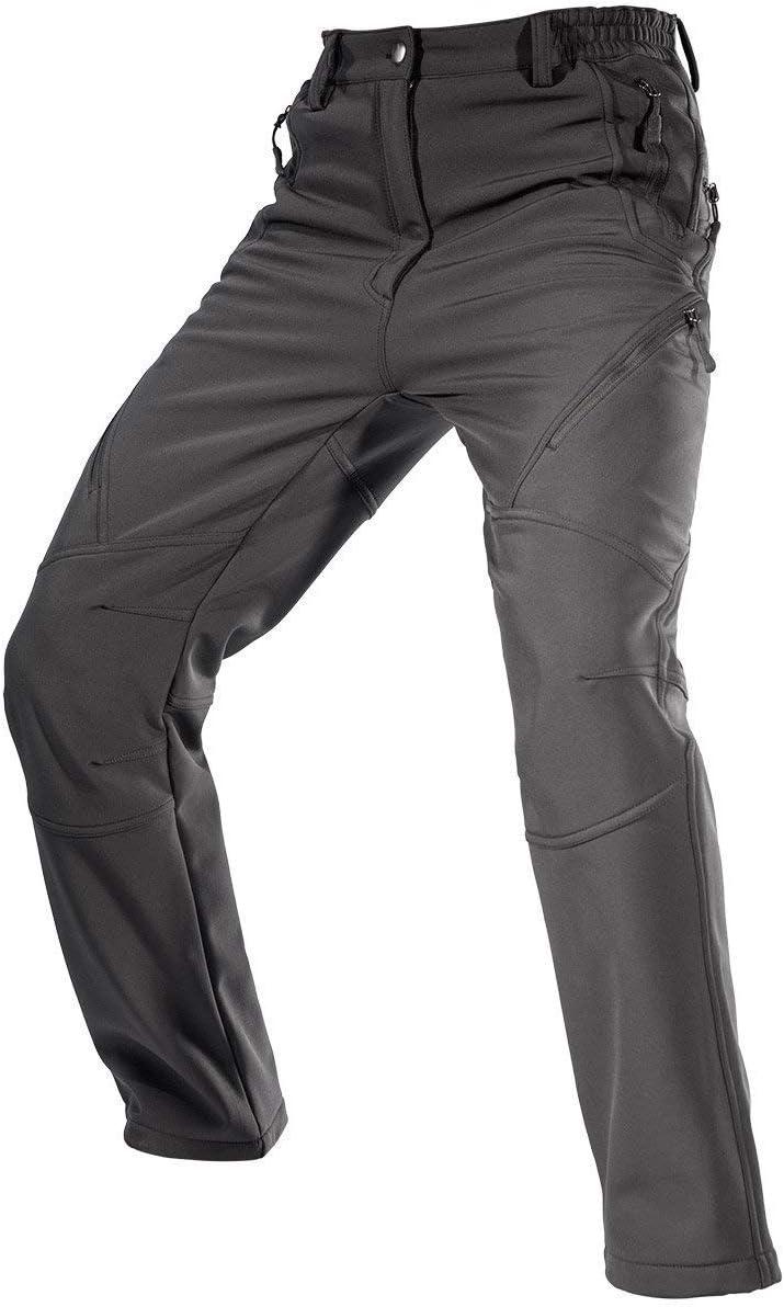 FREE SOLDIER Over item handling ☆ Men's Fleece Lined Outdoor Pants Water Hiking Cargo unisex