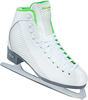 Riedell Skates - 113 Sparkle - Recreational Figure Ice Skates with Stainless Steel Spiral Blade